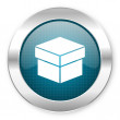 Stock Photo: Box icon