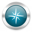 Compass icon — Stock Photo #28246657