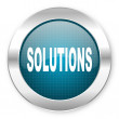 Solutions icon — Stock Photo #28247093