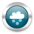 Snowing icon — Stock Photo #28247299