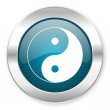 Ying yang icon — Stock Photo #28247537