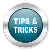 Tips icon — Stock Photo