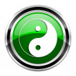 Ying yang icon — Stock Photo #29636229