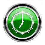 Clock icon — Stock Photo #29636279