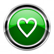 Heart icon — Stock Photo