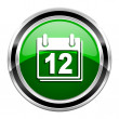 Planner icon — Stock Photo