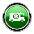 Ambulance icon — Stock Photo #29637543