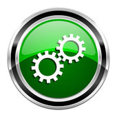 Gears icon — Stock Photo