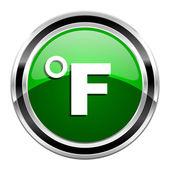 Fahrenheit icon — Stock Photo