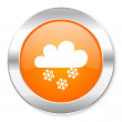Snowing icon — Stock Photo #29855709