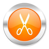 Scissors icon — Stock Photo