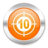 Target icon — Stockfoto