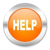 Help icon — Stock Photo