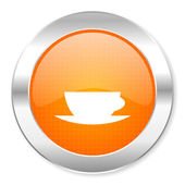 Coffee cup icon — Foto de Stock