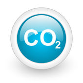 Carbon dioxide icon — Foto de Stock