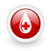 Blood icon — Stock Photo