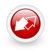 Icona di scambio — Foto Stock