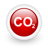 Carbon dioxide icon — Foto Stock