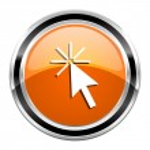 Click here icon — Stock Photo #30414645