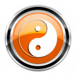Ying yang icon — Stock Photo #30414719
