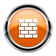 Firewall icon — Stock Photo #30415107