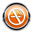 No smoking icon — Stock Photo