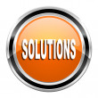 Solutions icon — Stock Photo #30415509