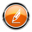 Draw icon — Stockfoto
