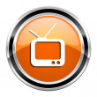 Tv icon — Stock Photo #30415755