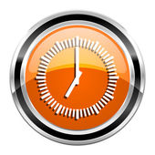 Clock icon — Stockfoto
