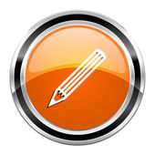 Pencil icon — Stock Photo