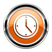 Clock icon — Stockfoto