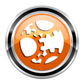 Gears icon — Stock Photo