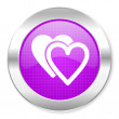 Stock Photo: Love icon