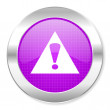 Stock Photo: Warning icon