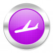Stock Photo: Arrivals icon