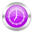 Clock icon — Stock Photo #30562235