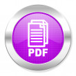 Pdf icon — Stock Photo
