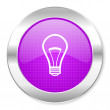 Light bulb icon — Stock Photo #30562777