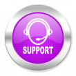Support icon — Stock Photo #30563115