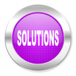 Solutions icon — Stock Photo #30563129