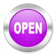 Open icon — Stock Photo #30563149