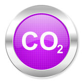 Carbon dioxide icon — Photo
