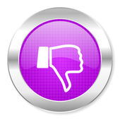 Dislike icon — Stock Photo