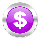 Us dollar icon — Photo