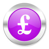 Pound icon — Foto de Stock