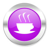 Coffee icon — Stock Photo