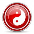 Ying yang icon — Stock Photo #30752357