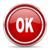 Ok icona — Foto Stock