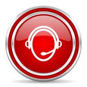 Icono de servicio al cliente — Foto de Stock
